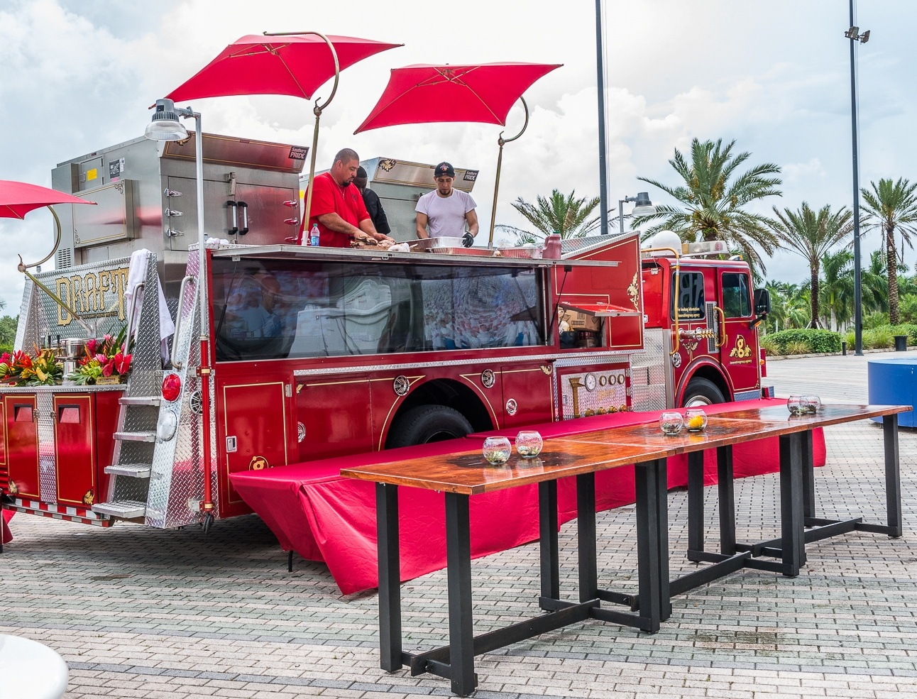 DRAFT Mobile Culinary Firetruck for Events by Innovative Group