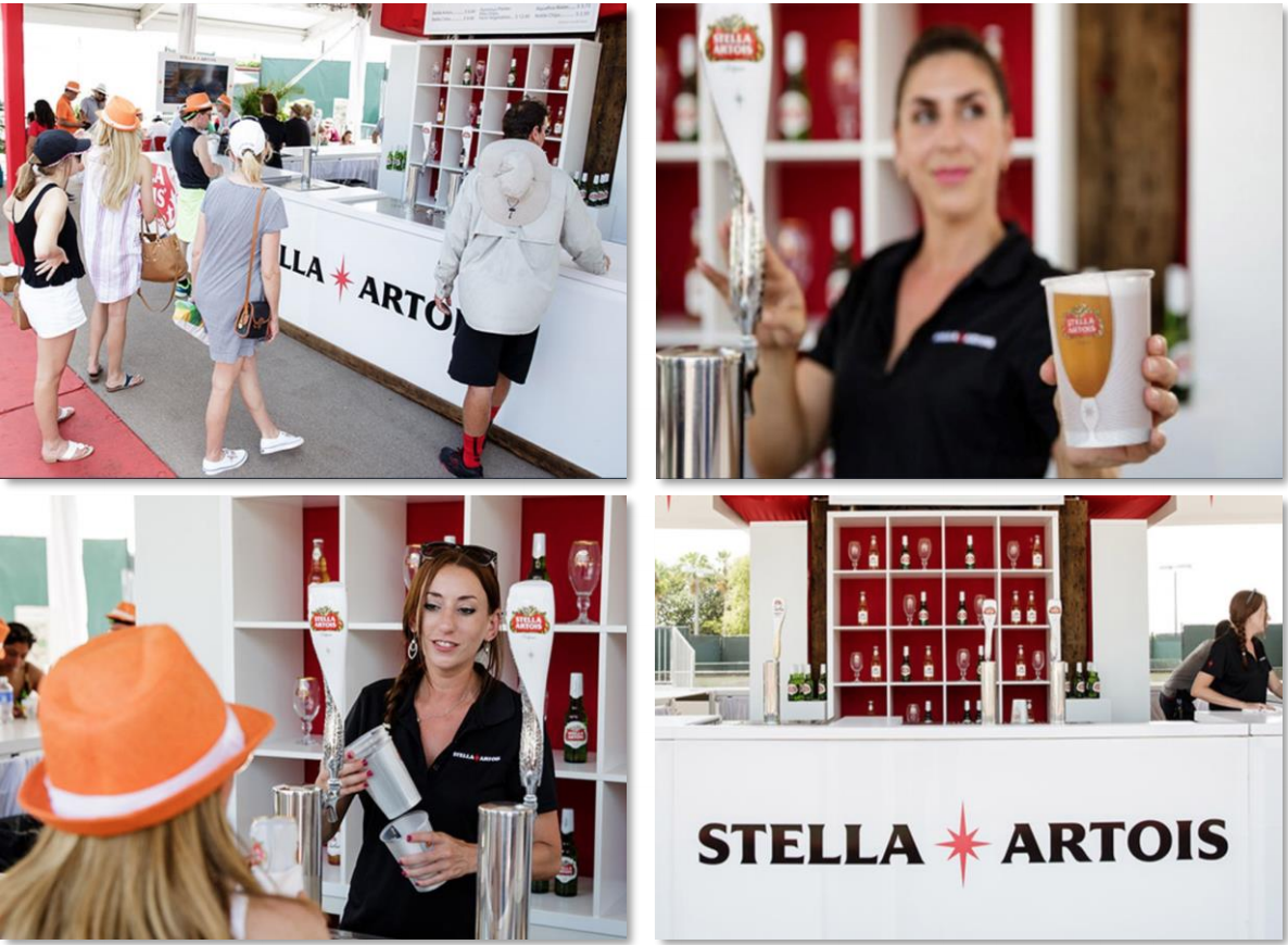 Stella Artois Experiential Event by Innovative Group