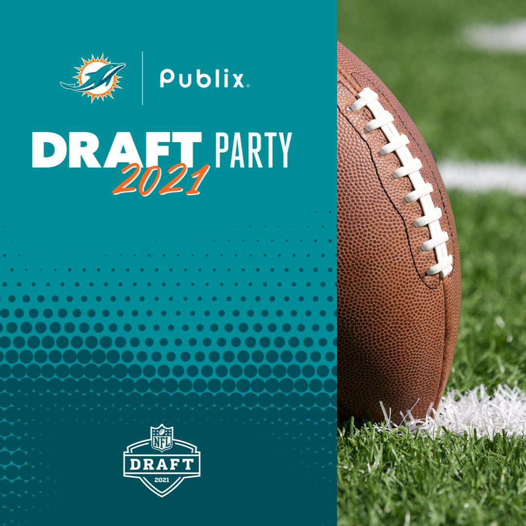 publix nfl draft party 2021 football